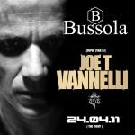 """BUSSOLAVERSILIA PRESENTA:DOMENICA 24 APRILE """"PASQUA"""" GUEST DJ JOE T. VANNELLI."""